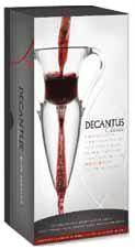 Decantus Classic, an innovative wine decanting system available from Valentinos International Wholesaling Inc, headquartered in Kelowna, British Columbia